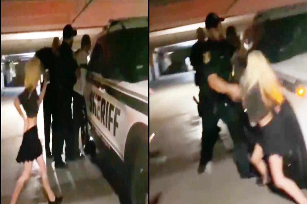 VIDEO: Policía azota brutalmente en el piso a jovencita de 90 libras durante detención