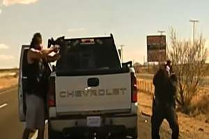 VIDEO: Traficante de drogas hispano mata a quemarropa a oficial; fue abatido tras persecución