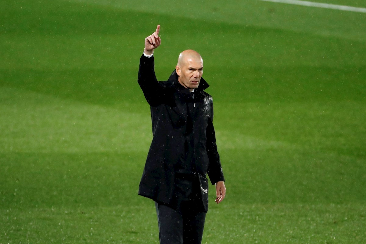 A Zidane le dolió el empate contra Betis: Perdemos dos puntos y ya parece que estamos mal