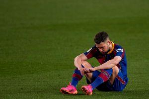 "Jordi Alba: ""Estamos muy jodidos"""