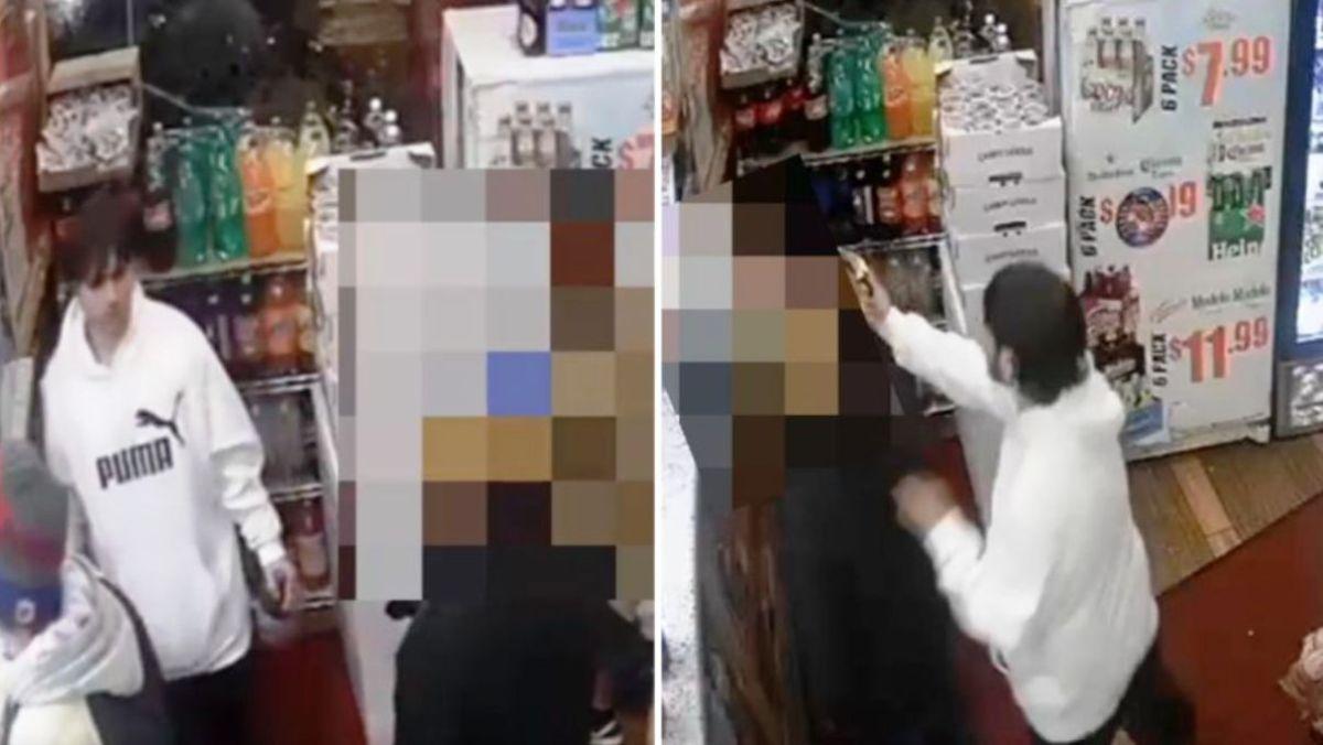 Video captó apuñalamiento en pelea en la fila para pagar en bodega del Bronx
