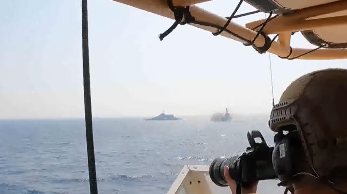 Tensión en el Golfo Pérsico: buques de EE.UU. lanzan disparos de advertencia a iraníes