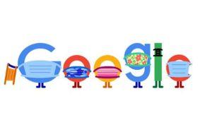 Google se suma a la lucha contra el COVID-19 con Doodle sobre el uso de la mascarilla