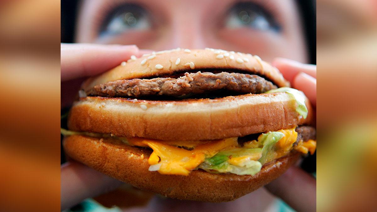 Un hombre logró comer 30,000 Big Macs de McDonald's en su vida y quiere llegar a las 40,000