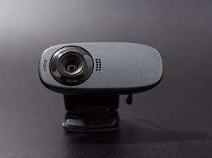 Causa terror cámara web con forma de ojo y con movimiento