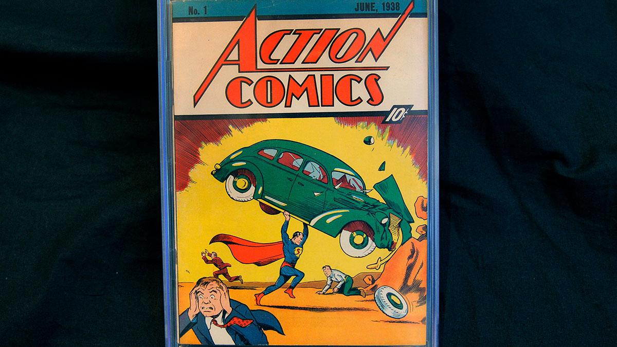 Venden un raro cómic de Superman en una cifra récord de $3.2 millones
