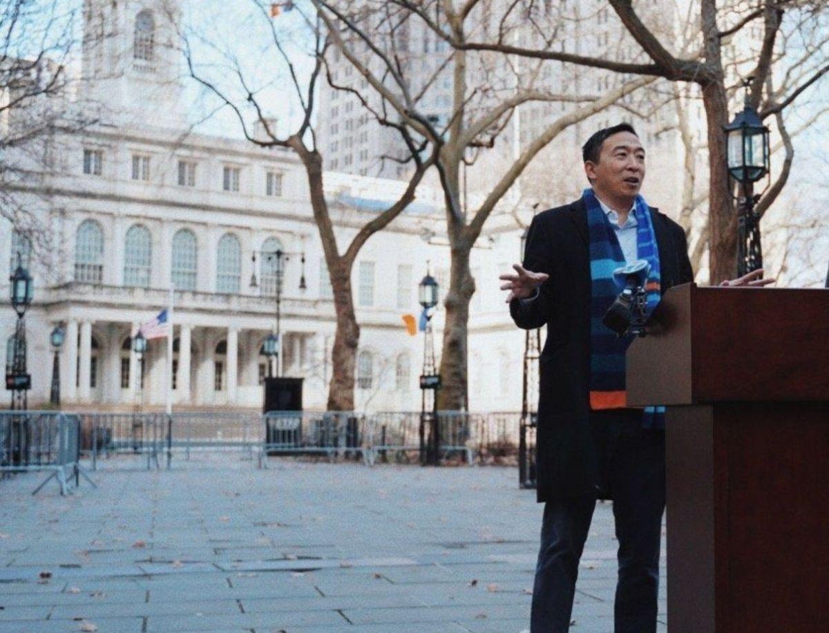 Andrew Yang sigue liderando encuestas a la alcaldía de Nueva York, aunque sin apoyos sindicales