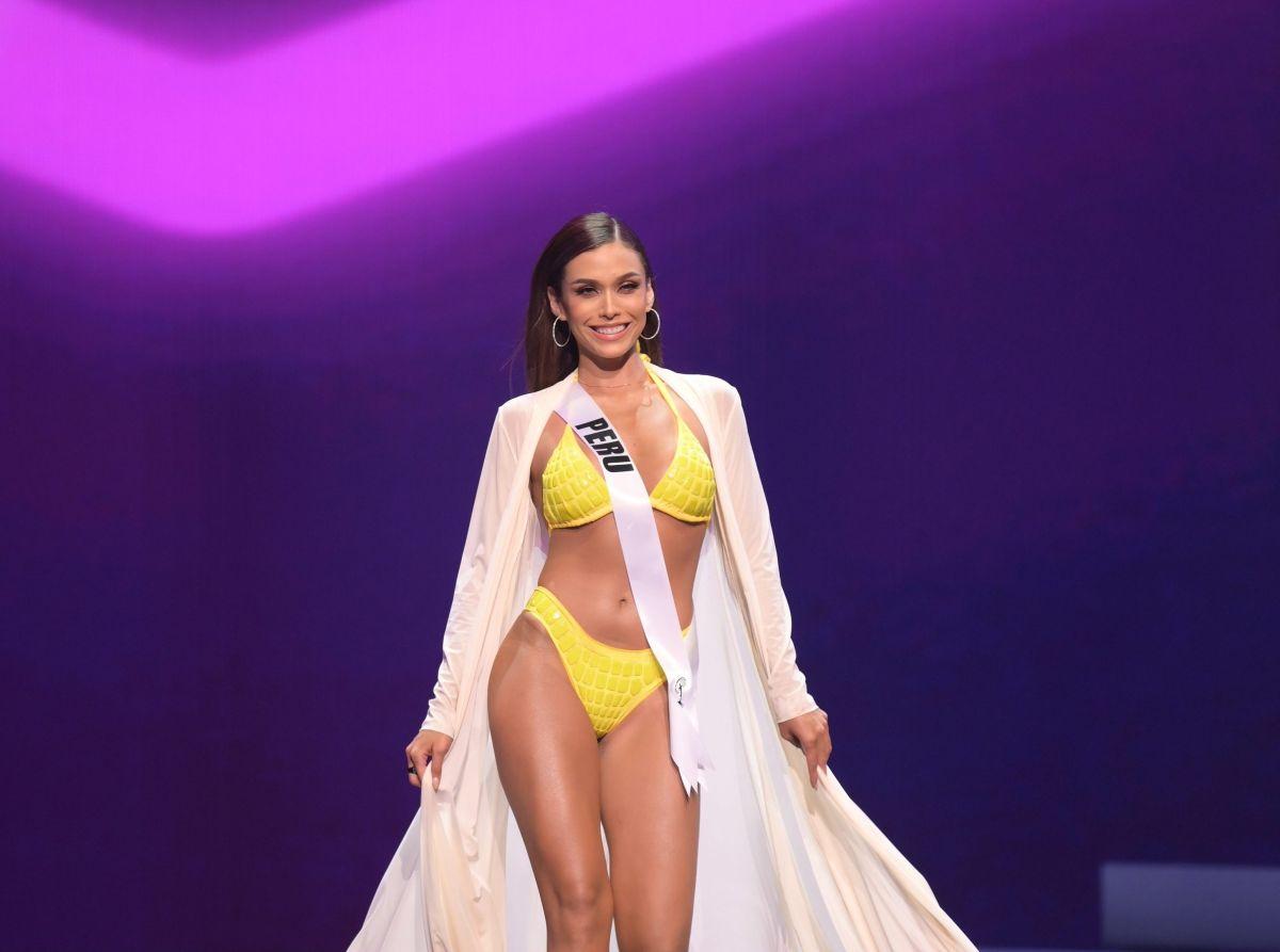 Janick Maceta quedó en tercer lugar en Miss Universo 2021 | Crédito: EFE