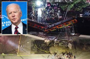 Biden envía condolencias y ofrece ayuda a México por tragedia en el Metro que dejó 25 muertos