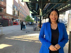 Glennis Gómez, una madre dominicana víctima de violencia doméstica que busca llegar al Concejo