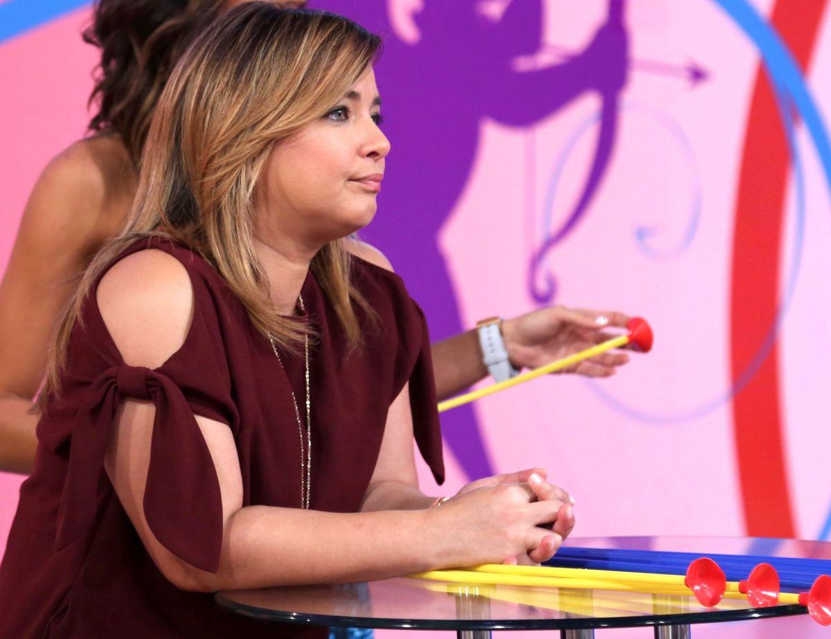 Adamari López reconocida conductora de televisión y actriz de telenovelas.