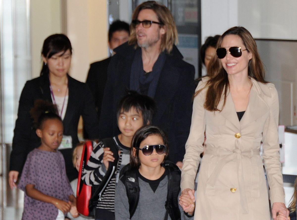 Tres de los hijos de Brad Pitt y Angelina Jolie querían testificar en contra de su padre