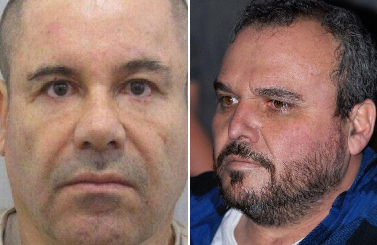 """El """"Rey"""" Zambada (derecha) fue testigo en el juicio a Guzmán Loera."""