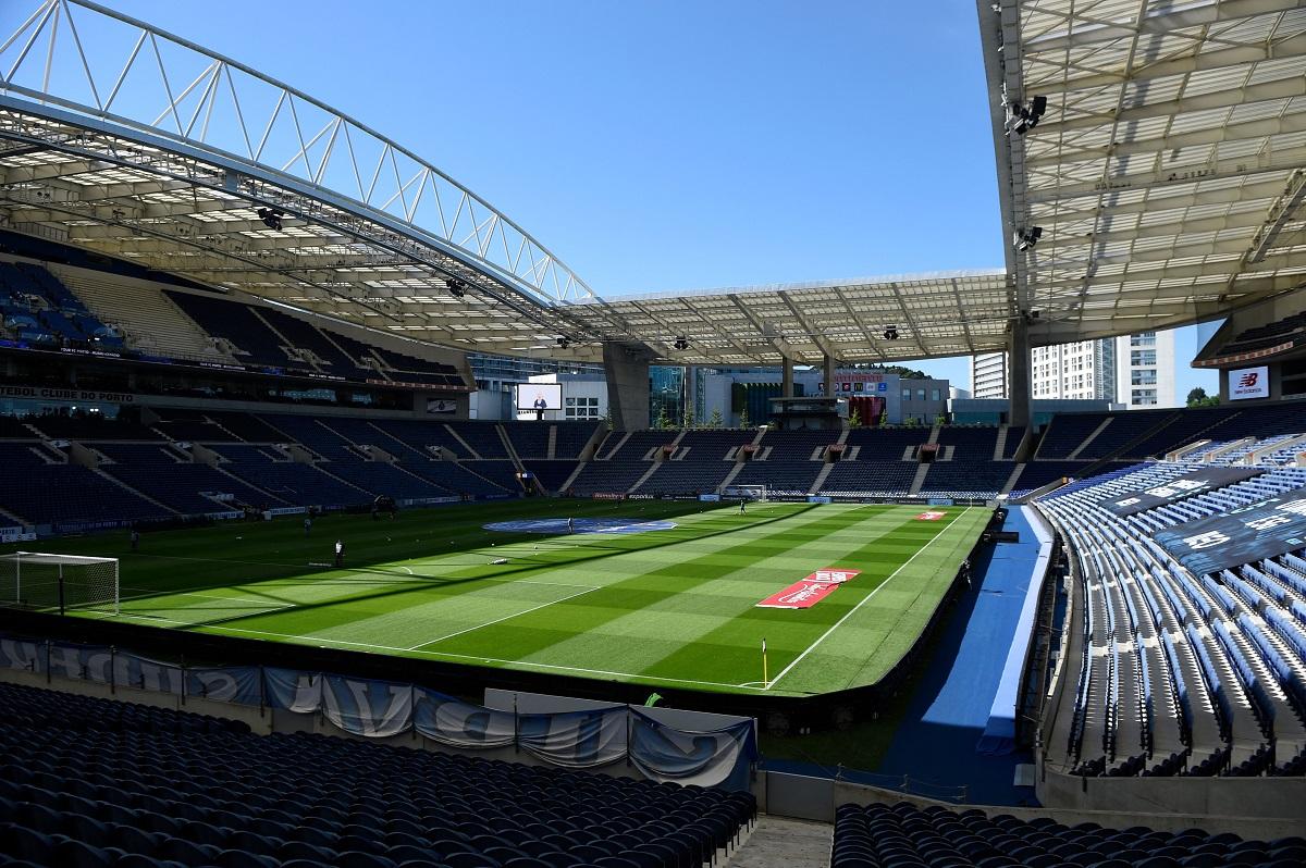 Estádio do Dragão de Oporto, aquí se jugará la final de la UCL.