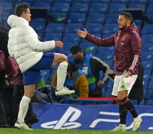 Las risas de Eden Hazard que indignan a la afición del Real Madrid tras la eliminación de la Champions