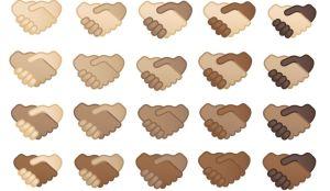 Habrá emojis de apretón de manos con diferentes tonos de piel