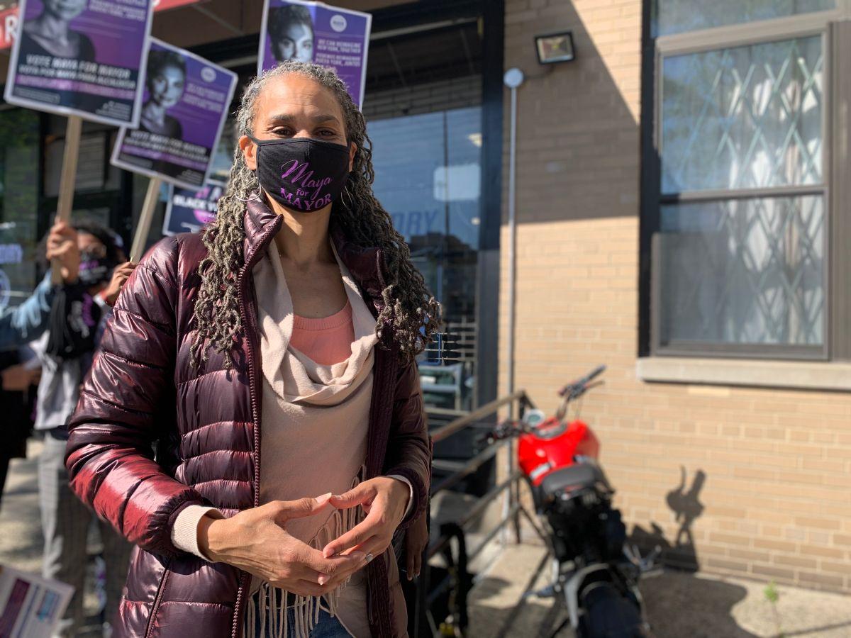 Maya Wiley, candidata a la Alcaldía de Nueva York.