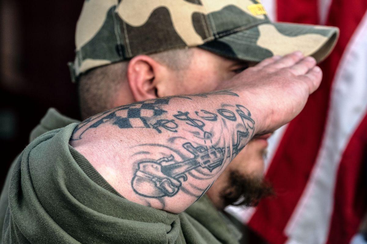 Un veterano deportado a México.