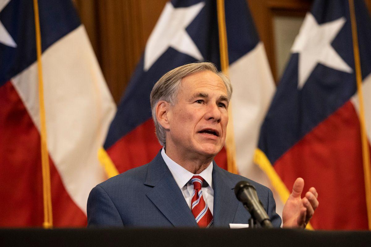 Greg Abbot, gobernador de Texas.