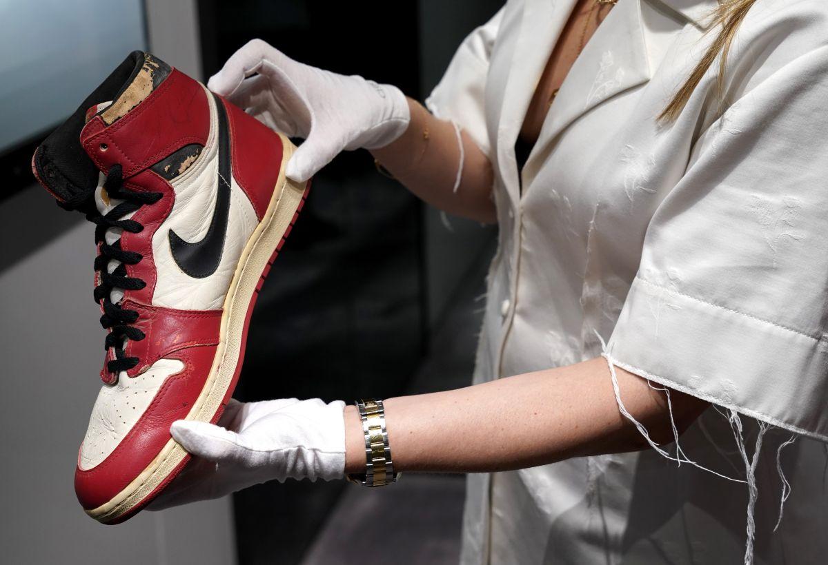 ¡Imperdible! Las primeras zapatillas de Michael Jordan serán subastadas