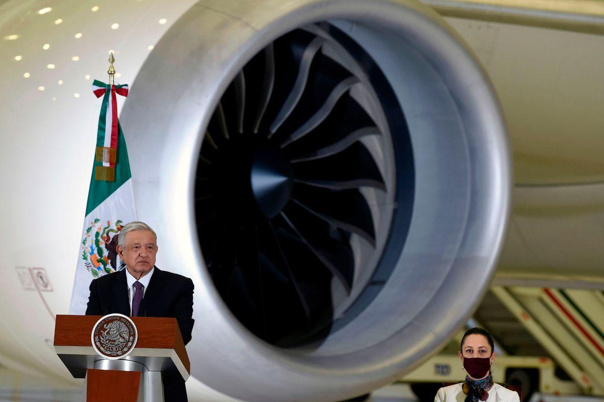 El presidente mexicano López Obrador desestimó la calificación de la FAA.