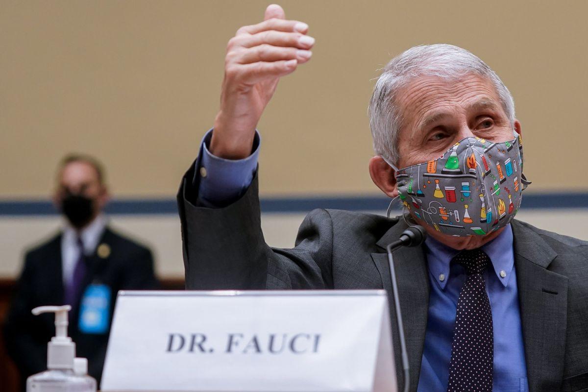 El doctor Anthony Fauci explicó que se necesitará una tercera dosis de la vacuna contra el COVID-19