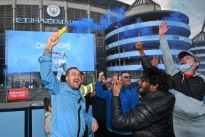 Sin jugar, el Manchester City se consagró campeón de la Premier