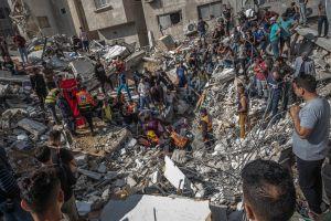 Palestina asegura que bombardeos de Israel han causado 210 víctimas