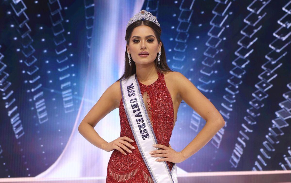 Andrea Meza, ahora Miss Universo.