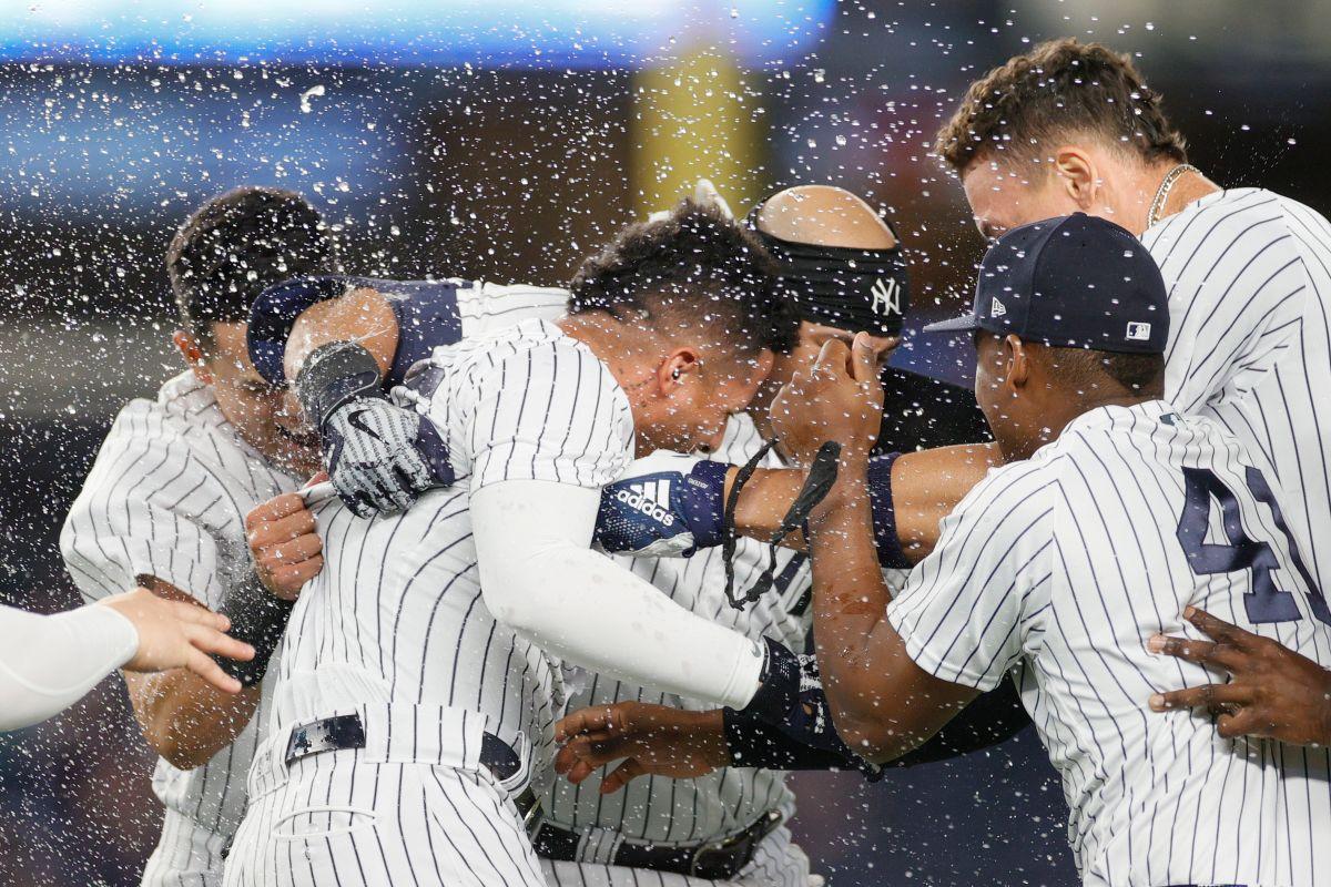 Otro momento de euforia para los Yankees en la semana: ganan gracias a un triple play