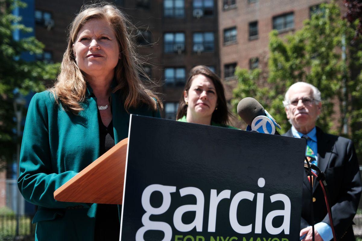 Kathryn Garcia encabeza preferencias demócratas.