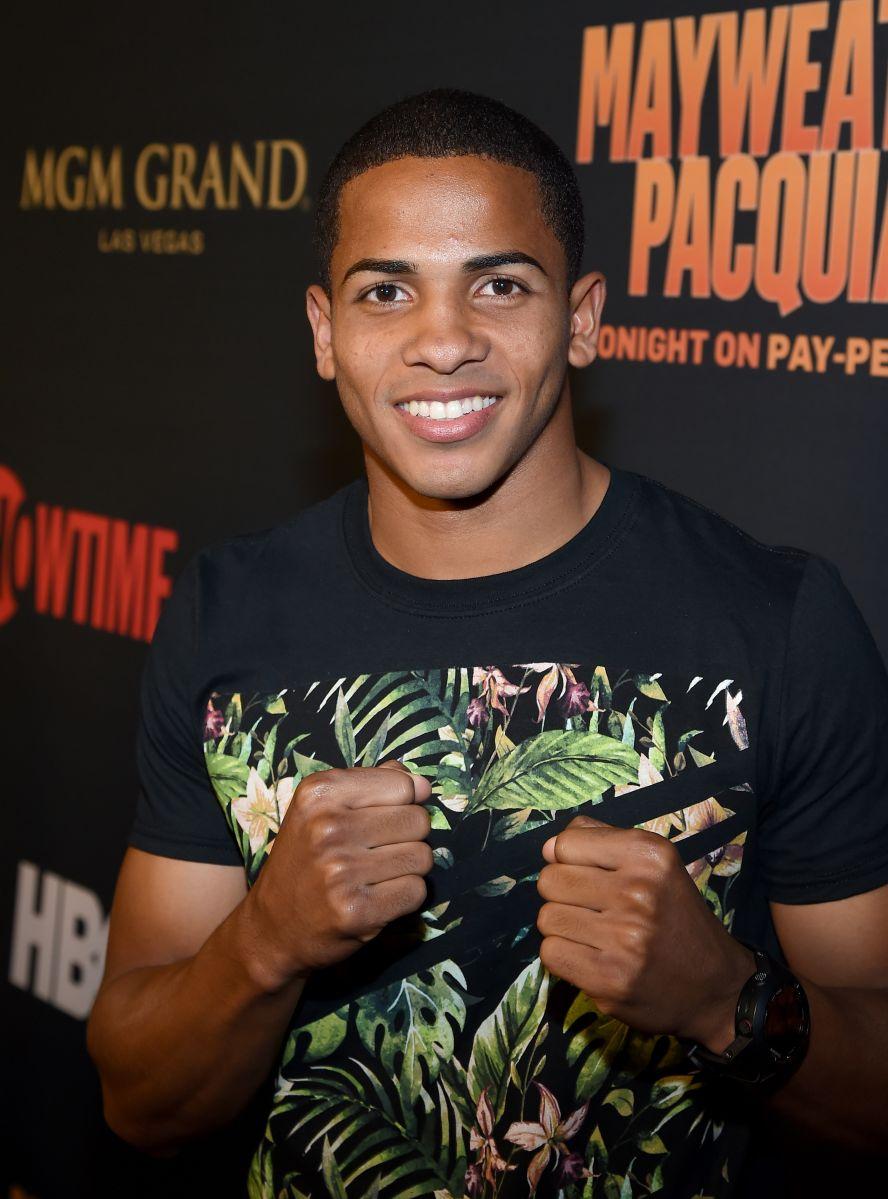 """El boxeador peso ligero Félix """"Diamante"""" Verdejo en una foto de archivo."""