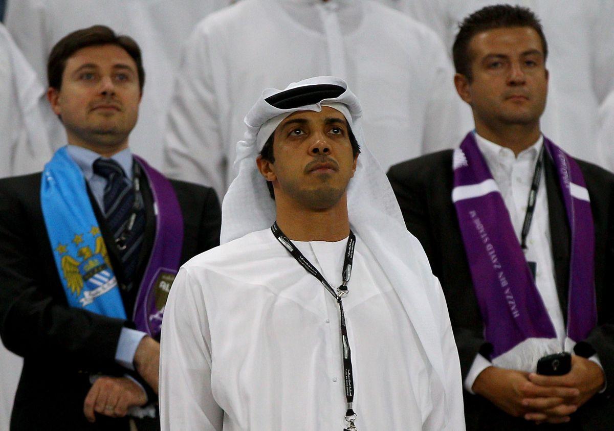 Mansour bin Zayed Al Nahyan, propietario del Manchester City.