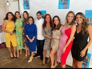 María Antonieta Collins festejó con las nuevas generaciones de mujeres periodistas su reciente éxito