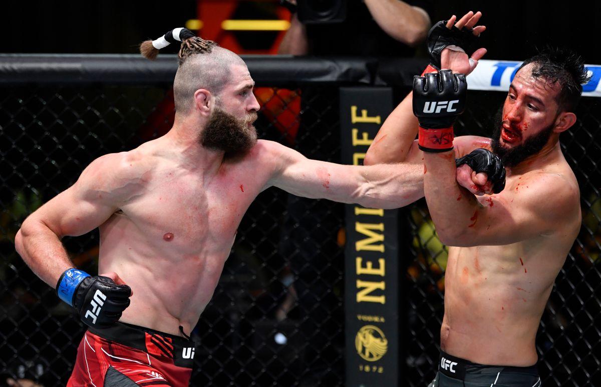 Video: codazo giratorio de película se postuló como candidato a KO del año en la UFC