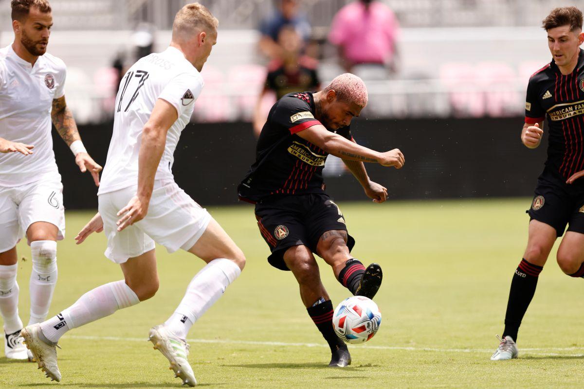 Su último gol en la MLS lo había anotado en octubre de 2019.