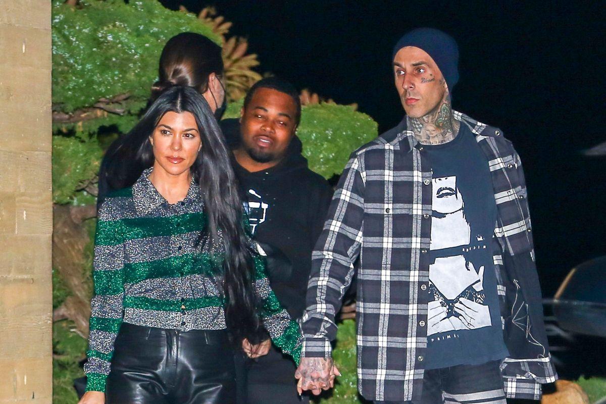 Kourtney Kardashian y Travis Barker.