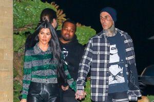 Kris Jenner está encantada con la historia de amor de Kourtney Kardashian y Travis Barker
