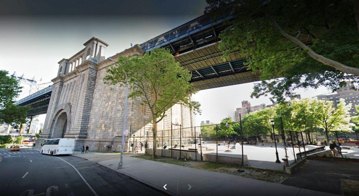 Coleman Skate Park, NYC.