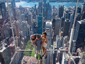 Ascensor exterior transparente en un rascacielos: la última novedad turística anunciada en Nueva York