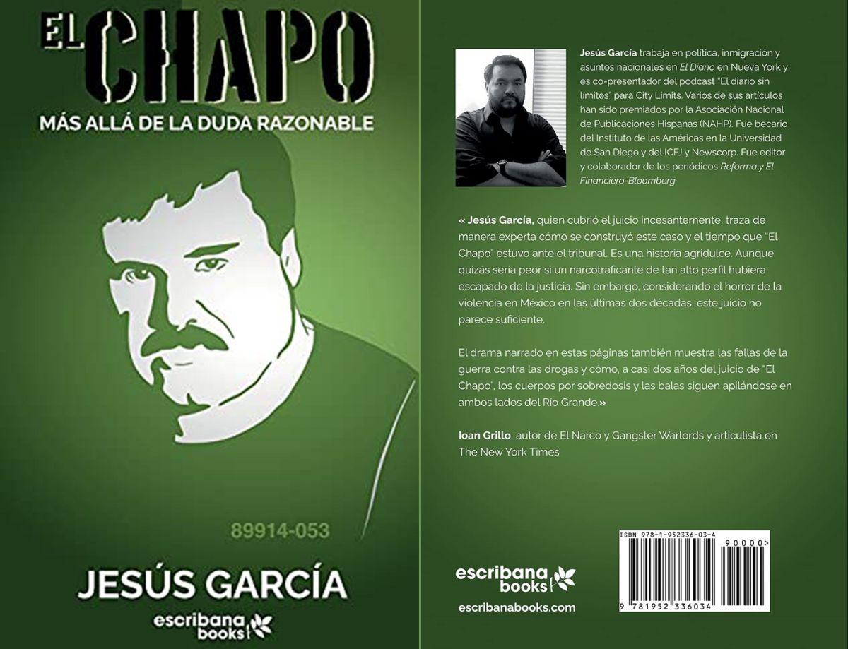 El libro narra cómo se conectaron las pruebas contra Guzmán Loera.