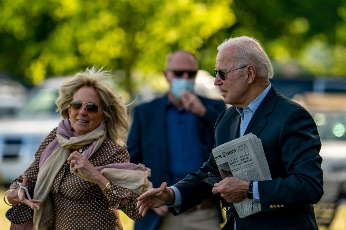 Joe Biden y su esposa Jill Biden revelan cuánto ganan y cuánto pagan de impuestos
