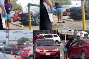 VIDEO: Mexicano hace enfurecer a Karen en Taco Bell y todo se vuelve un caos