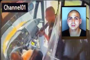 VIDEO: Soldado de Fort Jackson secuestró así autobús escolar con 18 niños dentro