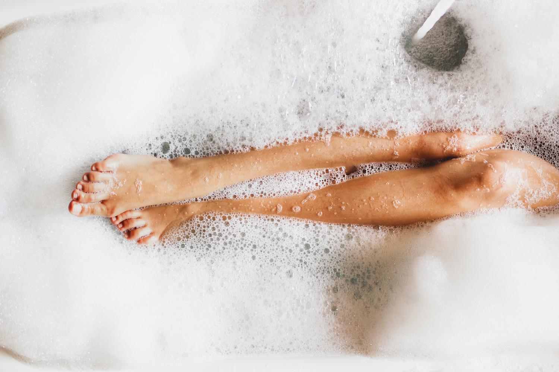 baño de espuma
