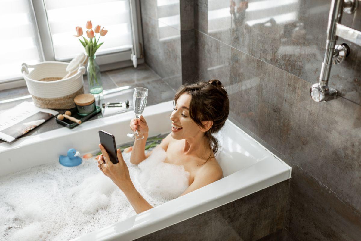 Estos baños pueden ser muy relajantes y beneficiosos para la piel