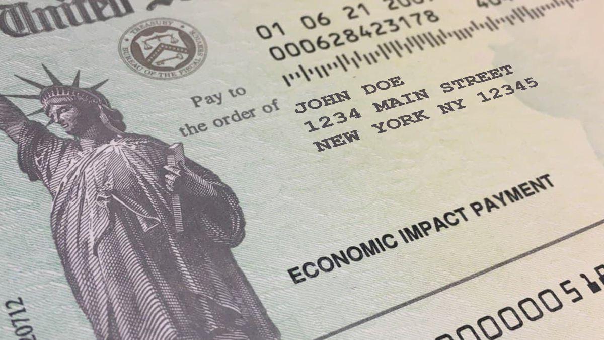 A cuánta gente ha beneficiado el envío del cheque de estímulo de IRS