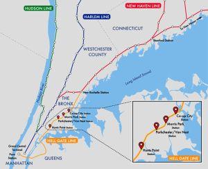 Sólo 25 minutos de El Bronx a Midtown: aprueban extender con cuatro estaciones servicio de tren Metro-North entre Manhattan y Connecticut