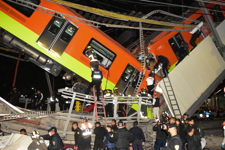 Accidentes en la historia del Metro de la CDMX