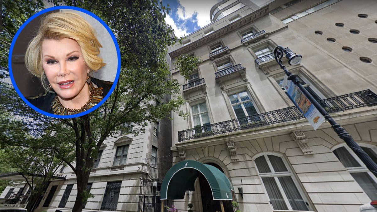 Joan Rivers vivió 28 años en este edificio y originalmente era una mansión de la alta sociedad neoyorquina.